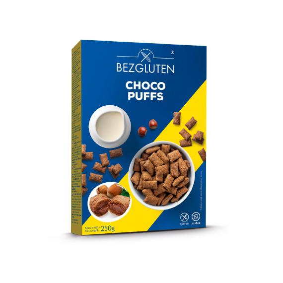 Bezgluten - Choco Puffs Sem Gluten