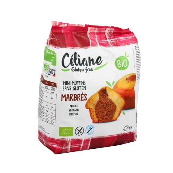 Celiane Gluten Free - Mini Muffins Mármore Bio Sem Gluten