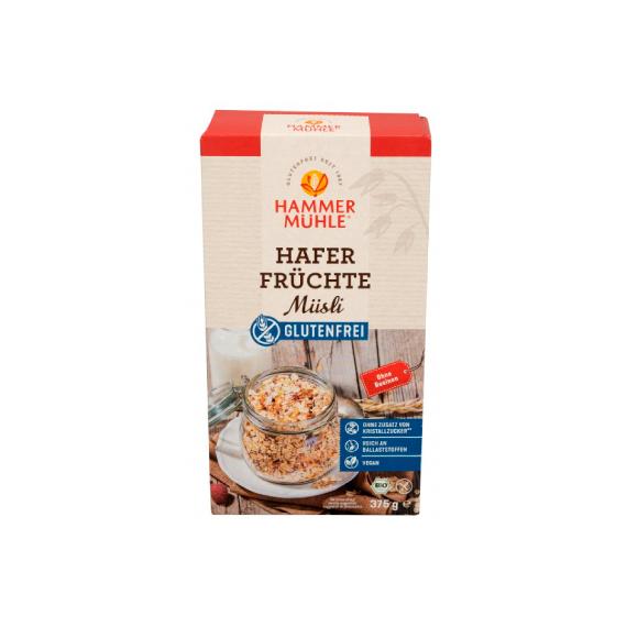 Hammer Muhle - Cereais Muesli Aveia Multifrutos Sem Gluten