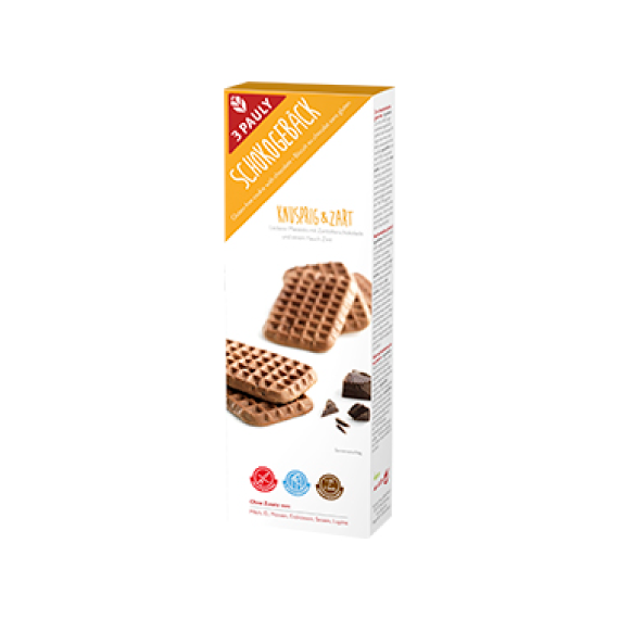 3Pauly - Bolachas Chocolate Sem Gluten