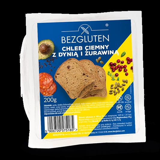 Embalagem de pão com sementes sem glúten