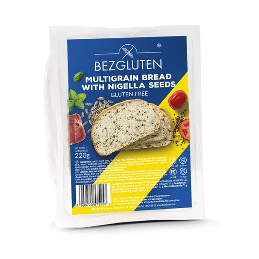 Embalagem de pão multicereais sem glúten